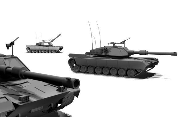 3DOcean M1 Abrams tank 78077