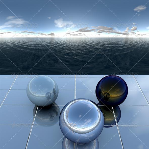 3DOcean Sea 22 CG Textures -  HDRI Images  Exterior  Sky  Daylight 2052374