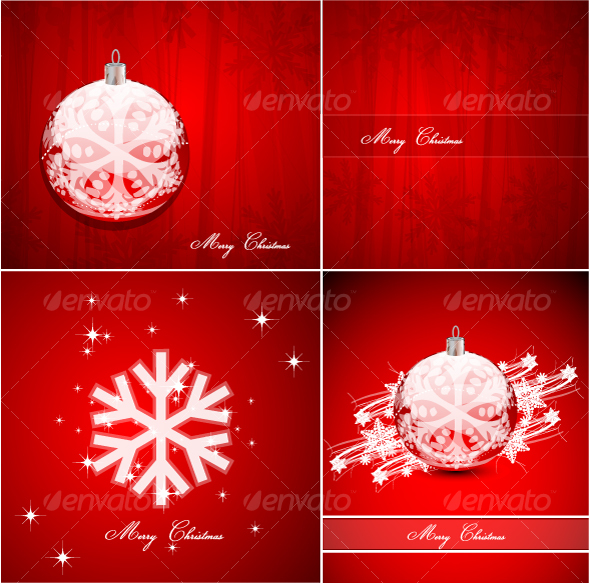 GraphicRiver Pack of Christmas background 78098