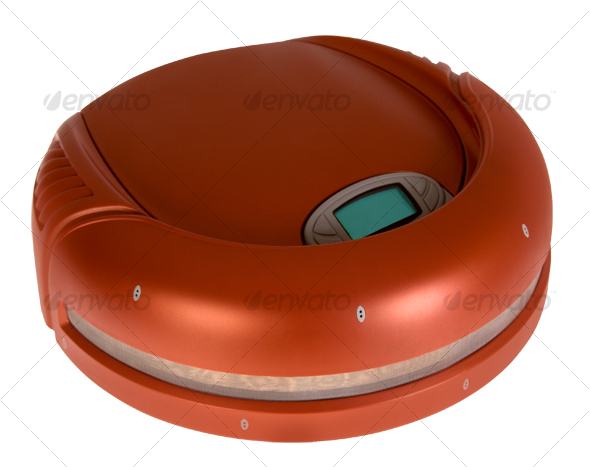 Graphic River Robot Vacuum Cleaner Isolated Objects -  Home & Office 78131