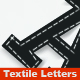 Textile Letters - GraphicRiver Item for Sale