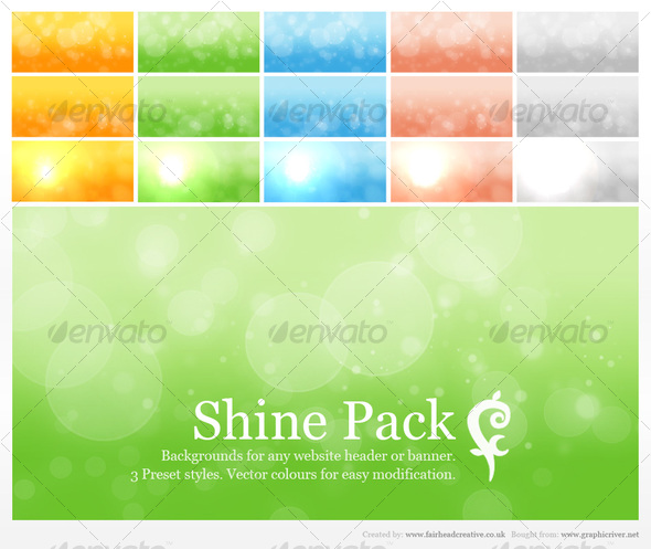 GraphicRiver FC Shine Pack 62775
