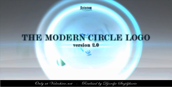 VideoHive The Modern Circle Logo V2 2063405