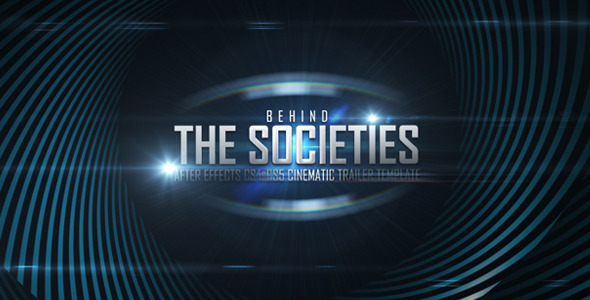 After Effects Project - VideoHive Behind Societies Trailer 2063582
