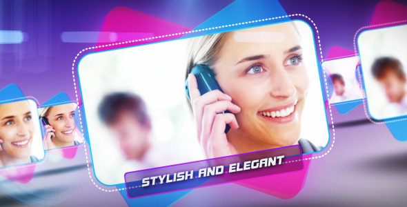 After Effects Project - VideoHive Stylish Slides 2064406