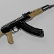 AK-47 Assault Rifle - 3DOcean Item for Sale