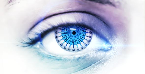 VideoHive Macro Eye Logo Reveal 2065289