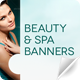 Beauty & Spa Web Banners - GraphicRiver Item for Sale