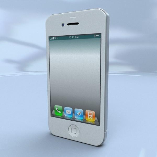 3DOcean Iphone 4s 3D model 3D Models -  Electronics  Phone 2068588