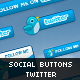 Twitter - Social Buttons #1 - GraphicRiver Item for Sale
