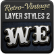 Retro-Vintage Styles 2 - GraphicRiver Item for Sale