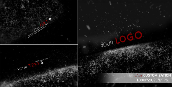 After Effects Project - VideoHive Black Rain 2022704