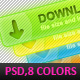 8 Download buttons - GraphicRiver Item for Sale