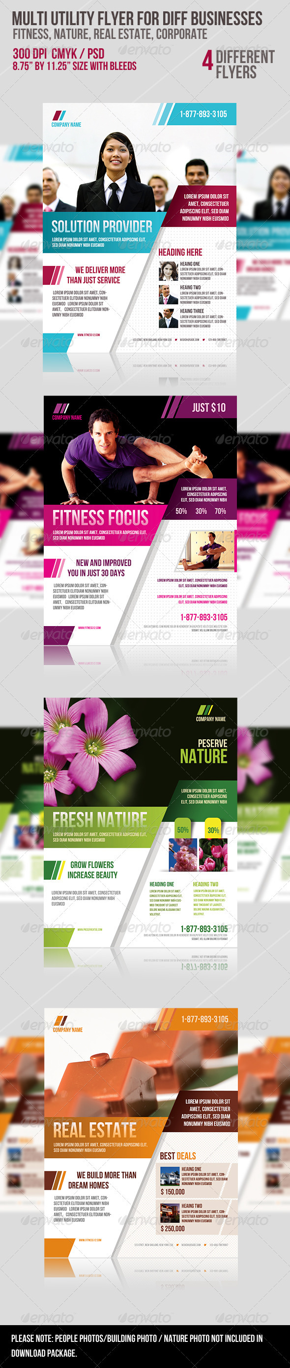 GraphicRiver Multi-utility Flyer For Different Business 2071821