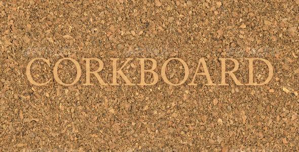 GraphicRiver Corkboard 78730