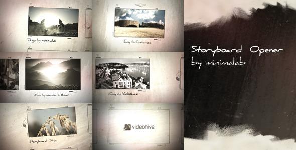 VideoHive Storyboard Opener 2073724