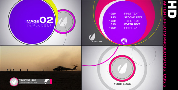 VideoHive Promo Graphics Package 2034601