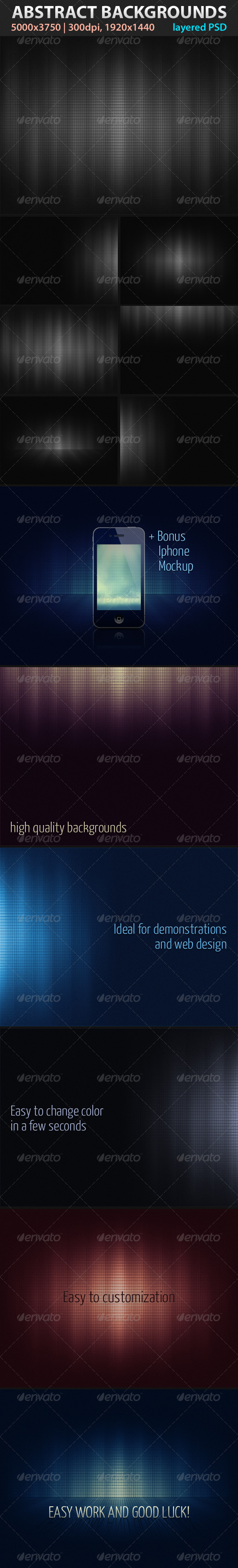 GraphicRiver Absctract Backgrounds 2078193
