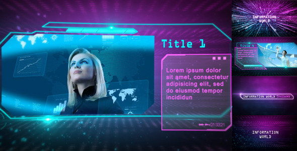 After Effects Project - VideoHive Information World 2078404