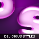 Delicious Layer Styles - GraphicRiver Item for Sale