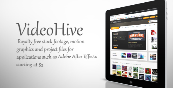 After Effects Project - VideoHive Clean Tablet 238401