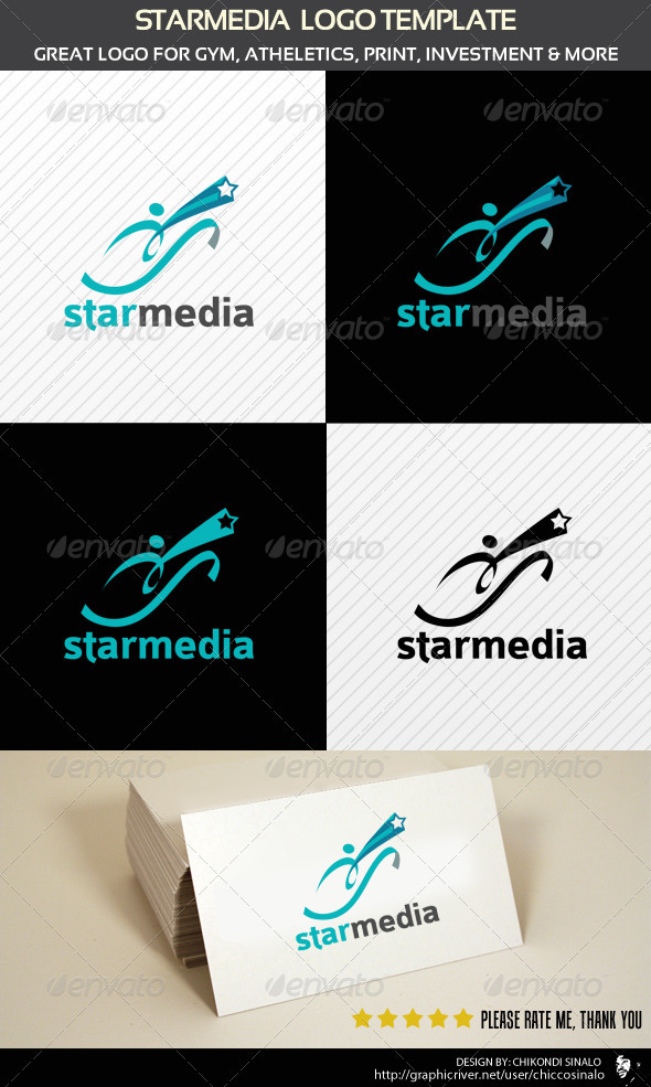 Graphic River Starmedia Logo Template  Logo Templates -  Abstract 2080759