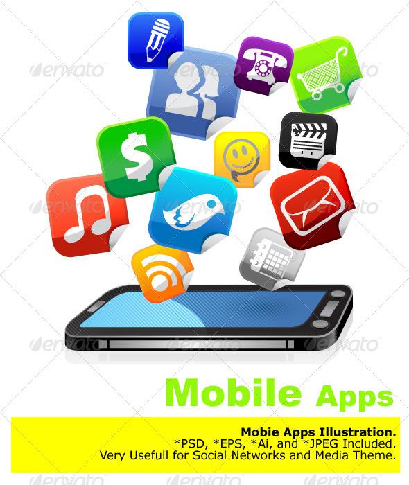 GraphicRiver Mobile Apps 2081139