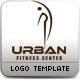 Urban Fitness Centre Logo Template  - GraphicRiver Item for Sale