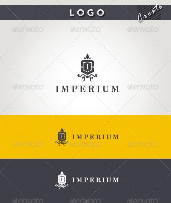 Graphic River Imperium Logo Logo Templates -  Crests 2075948