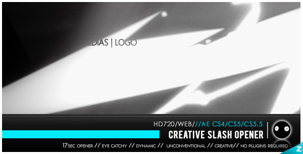 VideoHive Creative Slash Opener 2091114