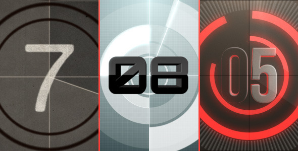 VideoHive Countdown logo reveal pack 2091141