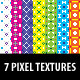 7 Pixel Textures - GraphicRiver Item for Sale