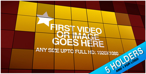 After Effects Project - VideoHive Square Pixels Reveal 1216572