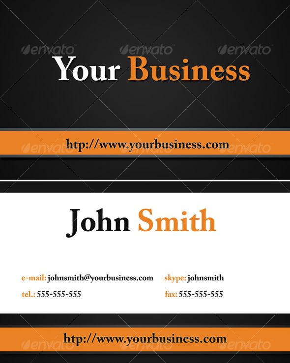Graphic River Business card Print Templates -  Business Cards  Corporate 77333