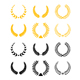 Set of laurel wreaths - GraphicRiver Item for Sale