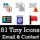 Itsy Bitsy Icons - Email & Contact App Icons - GraphicRiver Item for Sale