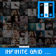Photo Infinite Grid Template - ActiveDen Item for Sale
