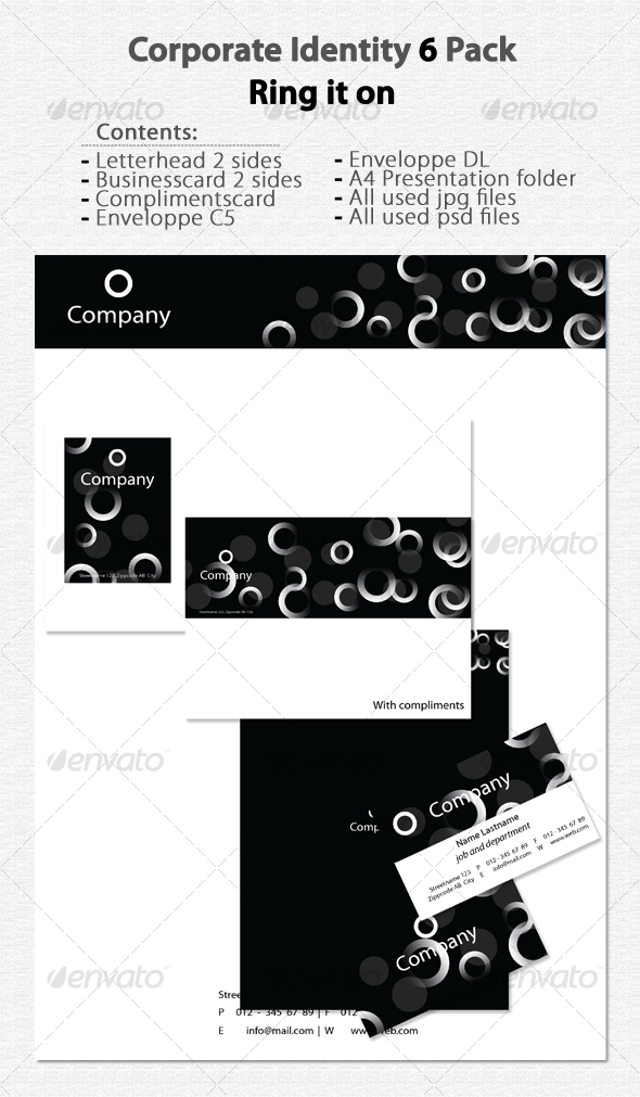 GraphicRiver Corporate Identity 6 Ring it on 79850