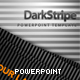 Dark Stripe Powerpoint Template - GraphicRiver Item for Sale