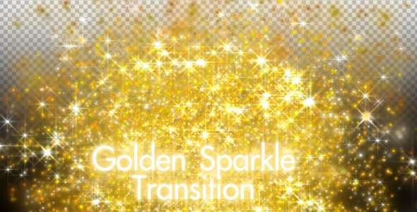 VideoHive Golden Sparkle Transition 2108671