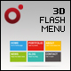 XML Driven 3D Flash Menu (Papervision3D) - ActiveDen Item for Sale