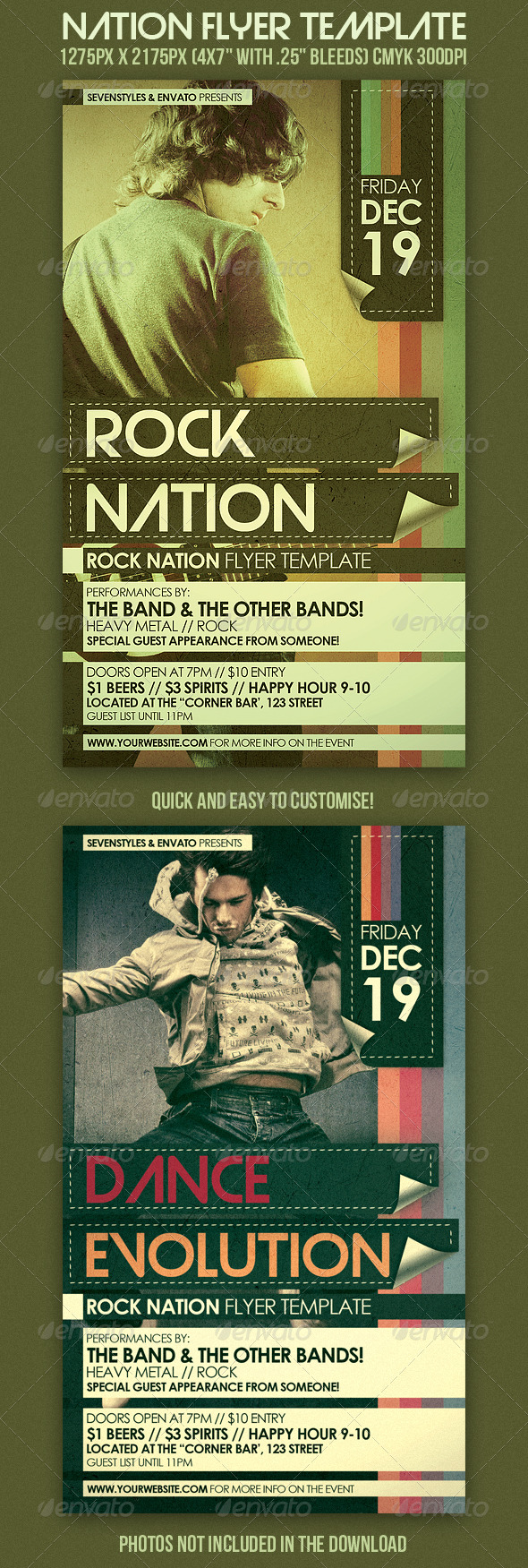 GraphicRiver Nation Flyer Template 239695
