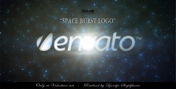 After Effects Project - VideoHive The Space Burst Logo 2113959