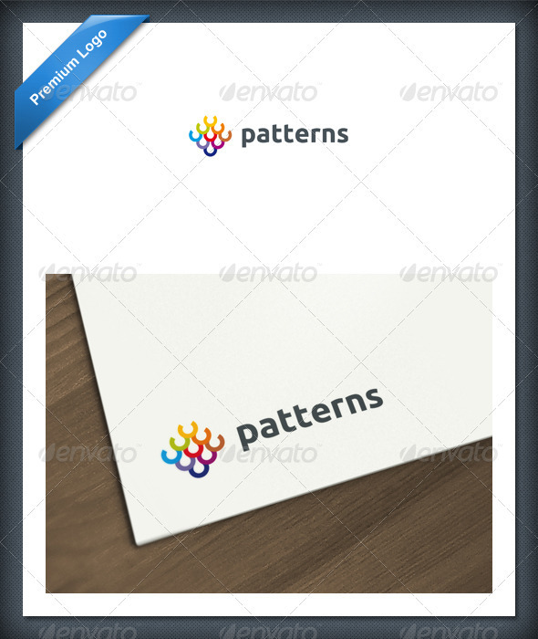 GraphicRiver Abstract Patterns Logo Template 2114398