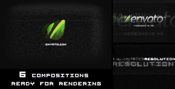 After Effects Project - VideoHive Digital Glitch Logo Reveal 2114494