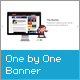 One by One Banner - ActiveDen Item for Sale