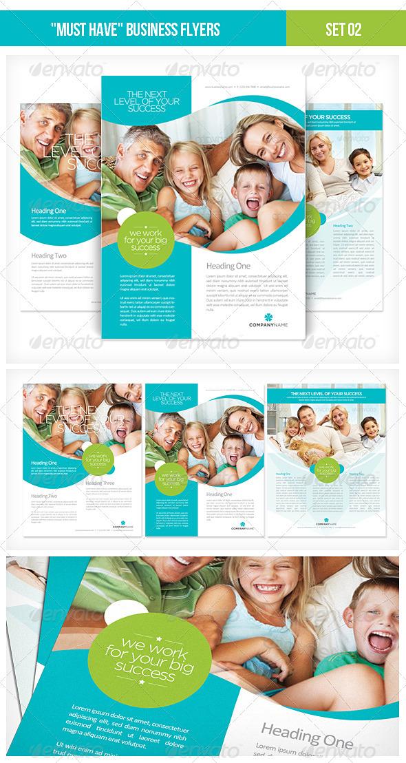 GraphicRiver Must Have Business Flyers Set 02 2115267