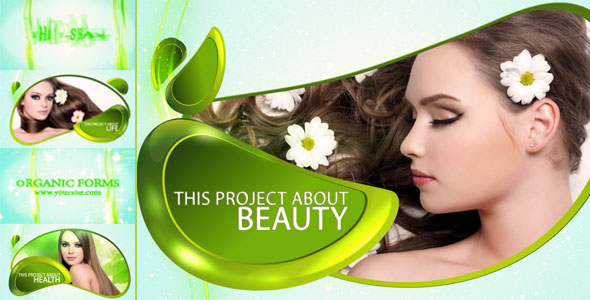 After Effects Project - VideoHive Organic forms 239937