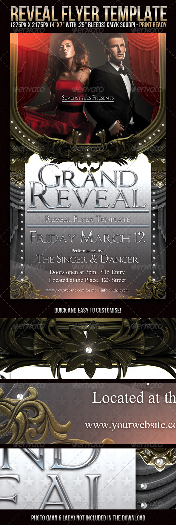 GraphicRiver Reveal Flyer Template 239964