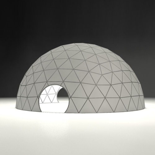 Geodesic Dome Template: Geodesic Globe Vector Graphic » Dondrup.com